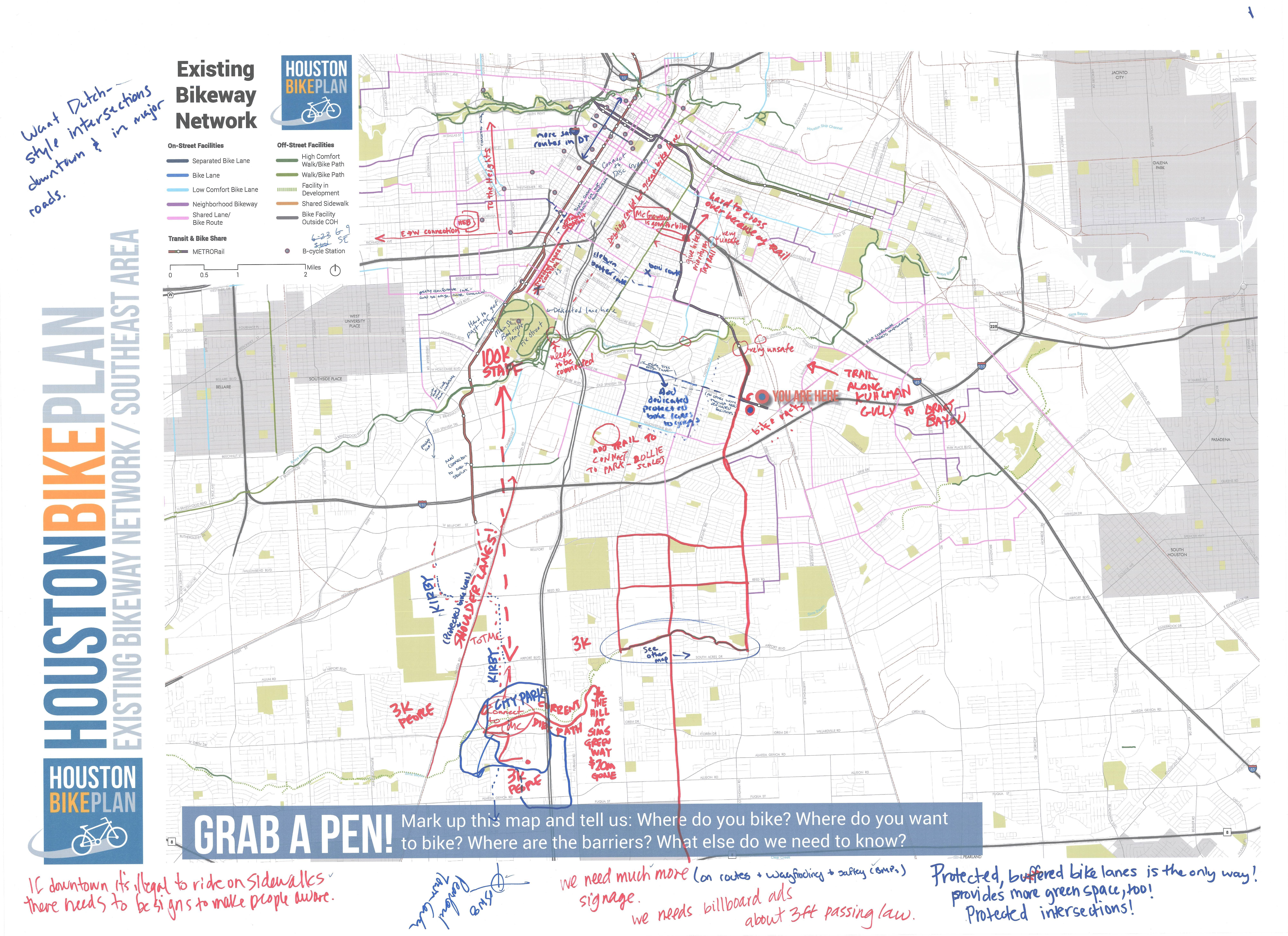 Plan Documents and Maps – Houston Bike Plan